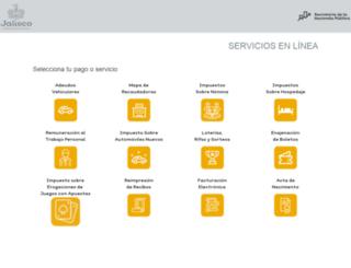 gobiernoenlinea1.jalisco.gob.mx screenshot