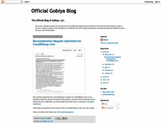 gobiyasolutions.blogspot.com screenshot