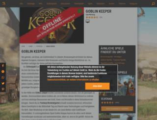 goblin-keeper.browsergames.de screenshot