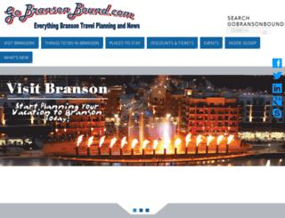 gobransonbound.com screenshot