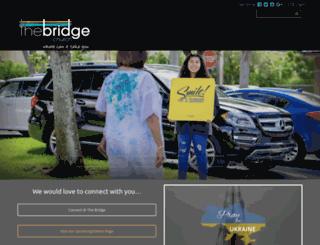 gobridgechurch.org screenshot