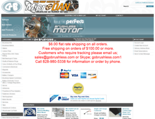 gobrushless.com screenshot