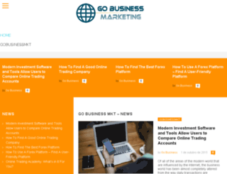 gobusinessmkt.com screenshot
