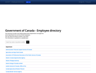 goc411.ca screenshot