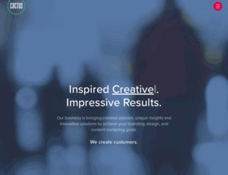 gocactus.com screenshot