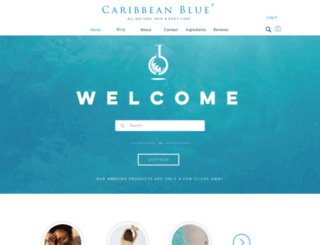 gocaribbeanblue.com screenshot