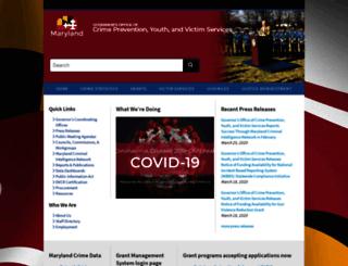 goccp.maryland.gov screenshot