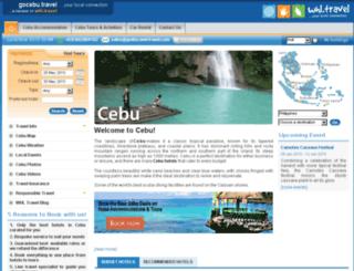 gocebu.travel screenshot