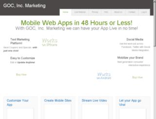 gocincmarketing.com screenshot