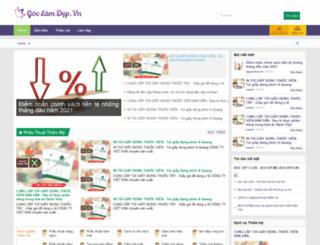 goclamdep.vn screenshot