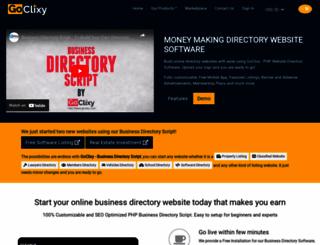 goclixy.com screenshot