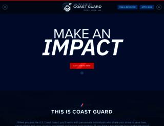 gocoastguard.com screenshot