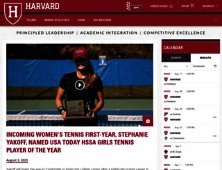 gocrimson.com screenshot