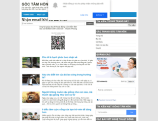 goctamhon.com screenshot