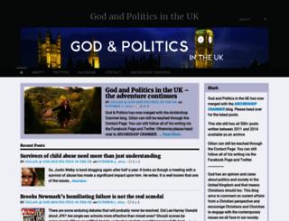 godandpoliticsuk.org screenshot