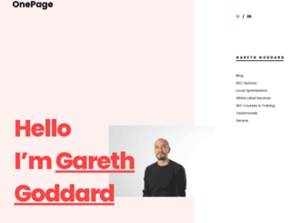 goddardseo.com screenshot