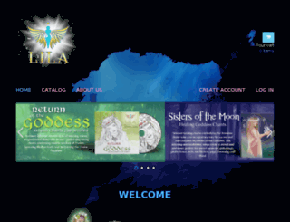 goddess-music.myshopify.com screenshot