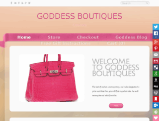 goddessboutiques.com screenshot