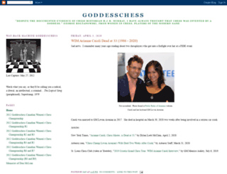 goddesschess.blogspot.com screenshot