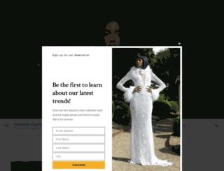 goddesscouturenews.com screenshot