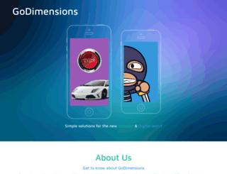 godimensions.com screenshot