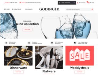 godinger.com screenshot