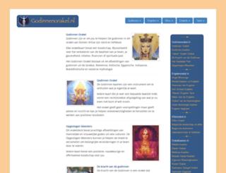 godinnenorakel.nl screenshot