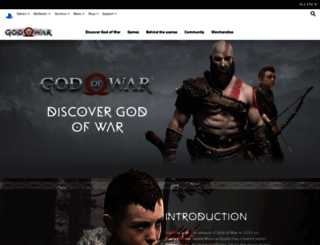godofwar.com screenshot