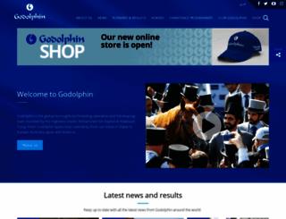 godolphin.com screenshot