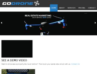godrone.ca screenshot