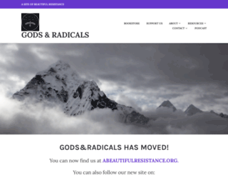 godsandradicals.org screenshot