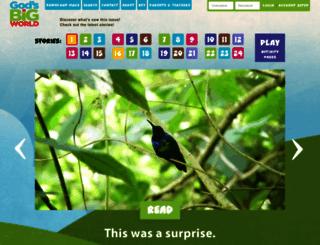 godsbigworld.wng.org screenshot