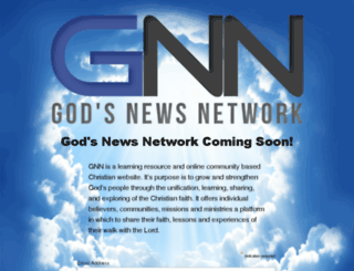 godsnewsnetwork.net screenshot