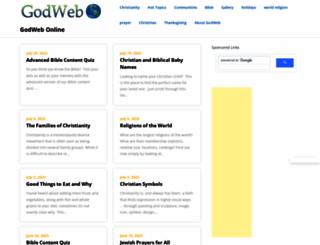 godweb.org screenshot