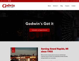 godwinplumbing.com screenshot