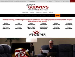 godwinsfurniture.com screenshot
