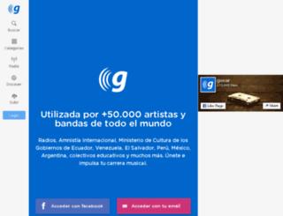 goear.com screenshot