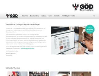 goed-berufsschule.at screenshot