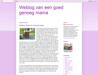 goedgenoegmama.blogspot.com screenshot
