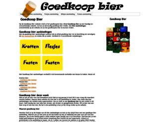 goedkoopbierr.nl screenshot