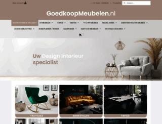 goedkoopmeubelen.nl screenshot