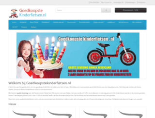 goedkoopstekinderfietsen.nl screenshot