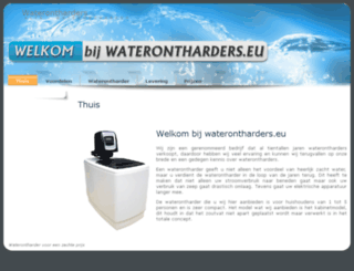 goedkoopstewaterontharder.nl screenshot