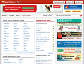 goelpackersmovers.sulekhab2b.com screenshot