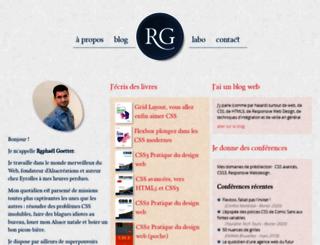 goetter.fr screenshot