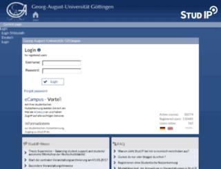 goettingen.studip.de screenshot