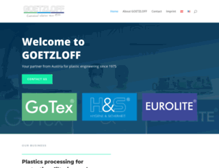 goetzloff.at screenshot