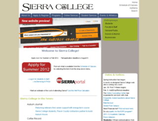 gofab.sierracollege.edu screenshot