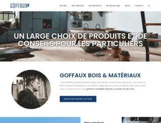 goffaux-bois.com screenshot