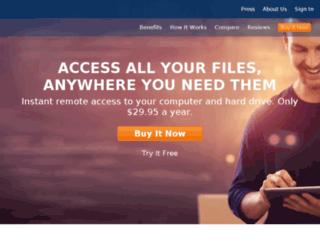 goflexnet.pogoplug.com screenshot